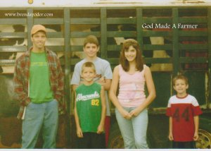 Photo taken the day we sold our dairy herd.