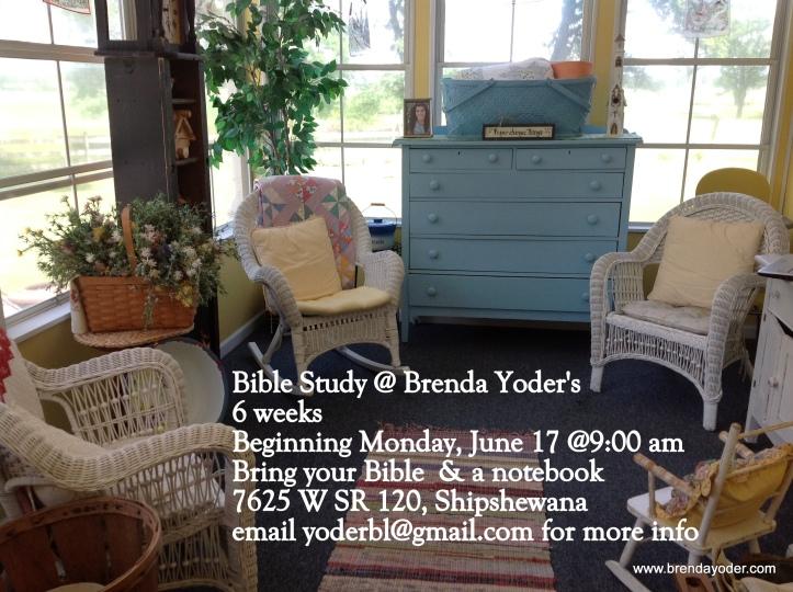 Summer bible study